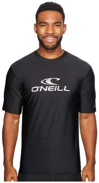 O'Neill Wave Short Sleeve Rash Tee Men's T Shirt