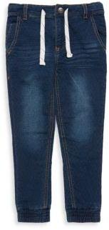 Petit Lem Little Boy's Faded Denim Jeans