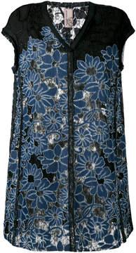 Antonio Marras floral embroidered dress
