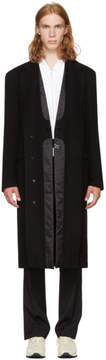 Maison Margiela Black Double-Layer Coat