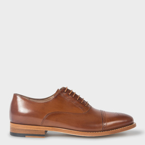 Paul Smith Women's Tan Leather 'Bertie' Brogues