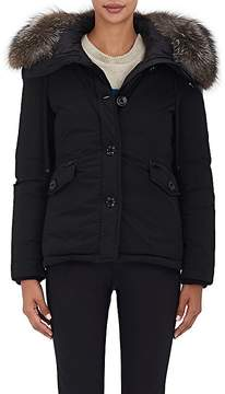 Moncler Women's Malus Fur-Trimmed Down Jacket