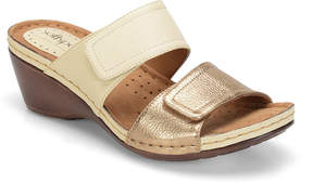 Softspots Soft Spots Panama Two-Strap Wedge Sandals