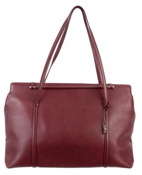Cartier Leather Tote Bag