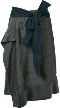 A.F.Vandevorst striped skirt