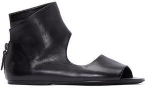 Marsèll Black Cut-Out Sandals