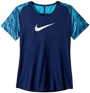 Nike Dry Academy Short Sleeve Soccer Top Girl's Clothing