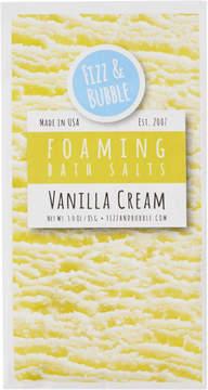 Fizz & Bubble Vanilla Cream Individual Bath Salts