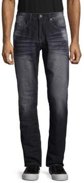 Buffalo David Bitton Six Slim Straight Leg Jeans