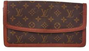 Louis Vuitton Monogram Canvas Dame Pm Wallet. - BROWN MULTI - STYLE