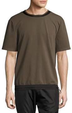 Public School Gonzo Drawstring-Hem T-Shirt