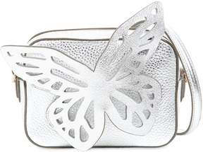 Sophia Webster Flossy Butterfly Metallic Leather Bag