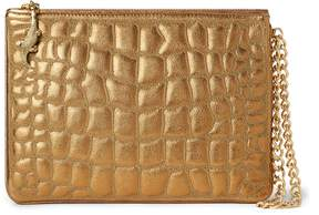 Ralph Lauren Quilted Nappa Leather Pouch