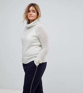 Brave Soul Plus Roll Neck Sweater