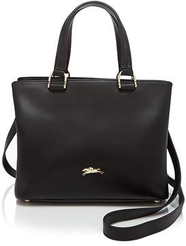 Longchamp Honore 404 Small Satchel - BLACK/GOLD - STYLE
