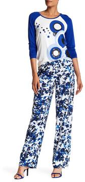 Basler Floral Print Pants
