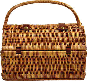 Picnic at Ascot Yorkshire Picnic Basket for Four with Blanket