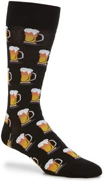 Hot Sox Beer Crew Socks