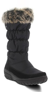 Spring Step Women's Vanish Faux Fur Trim Waterproof Boot