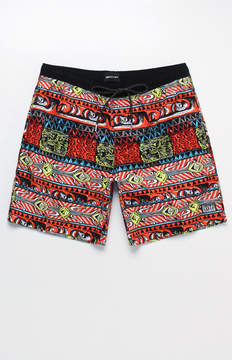 Quiksilver Tribal Print Volley 19 Swim Trunks