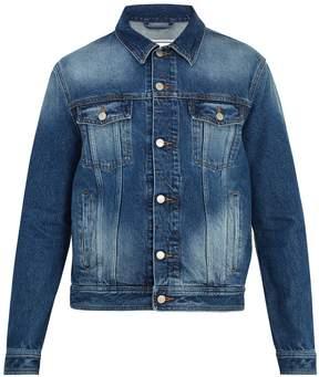 Ami Washed-denim jacket