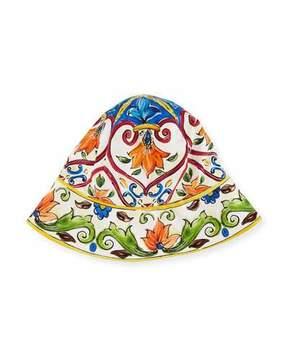 Dolce & Gabbana Girls' Maiolica Sun Hat