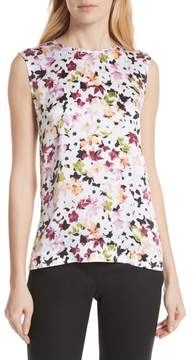 Equipment Layla Floral Silk Top
