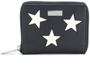 Stella McCartney embroidered star zip around wallet