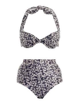 Zimmermann Prima 50's Tie Bikini