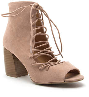 Qupid Warm Taupe Beau Bootie - Women
