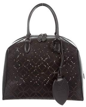 Alaia Laser Cut Arabesque Dome Bag