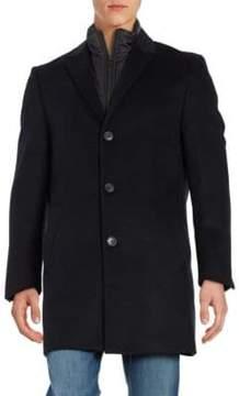 Hart Schaffner Marx Wool-Blend Coat