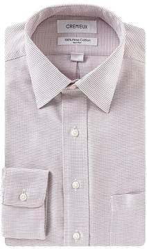 Daniel Cremieux Non-Iron Classic Fit Spread Collar Textured Dress Shirt