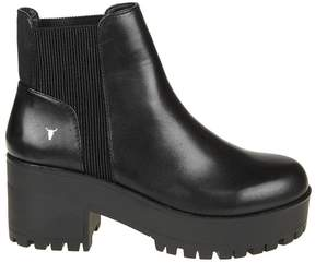 Windsor Smith Windsorsmith Black Leather Ankle Boot