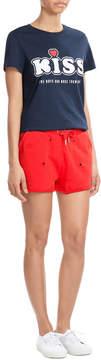 Zoe Karssen Distressed Cotton Shorts