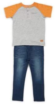 7 For All Mankind Little Boy's Two-Piece Outfit