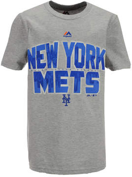 Majestic New York Mets Big City T-Shirt, Big Boys (8-20)