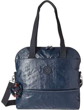 Kipling Magnolia Satchel Satchel Handbags - LAQUER BLUE - STYLE