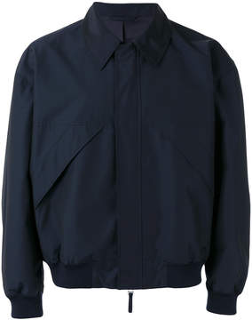 E. Tautz classic collar bomber jacket
