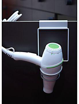 HairArt Cabinet Door Hair Dryer Holder