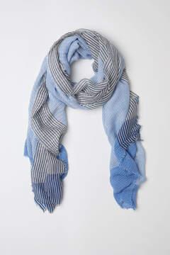 H&M Striped Scarf - Blue