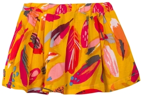 Catimini Pleated Skirt with Print