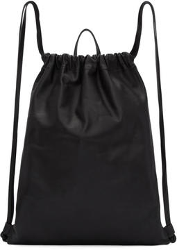 Pb 0110 Black AB 18 Drawstring Backpack