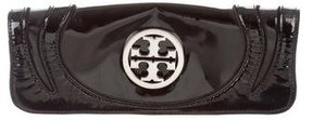 Tory Burch Patent Leather Clutch - BLACK - STYLE