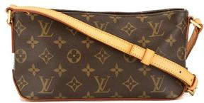 Louis Vuitton Monogram Canvas Trotteur Bag - BROWN - STYLE