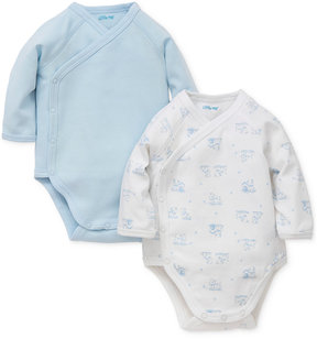 Little Me 2-Pk. Side-Snap Cotton Bodysuits, Baby Boys (0-24 months)