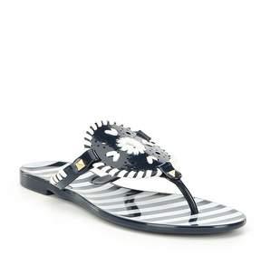 Jack Rogers Georgica Stripe Jelly Sandals