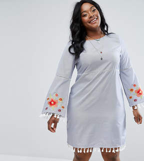 Alice & You Swing Dress With Festival Embroidery