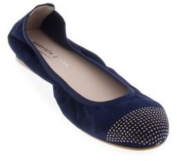 Patricia Green Star Suede Ballet Flats