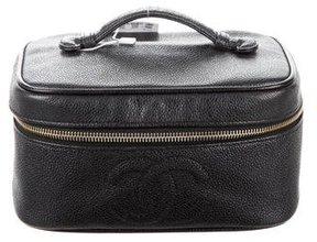 Chanel Caviar CC Vanity Case